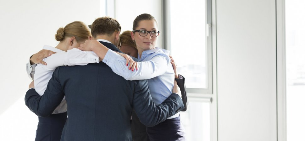 Court: Hugging Could Be Sexual Harassment